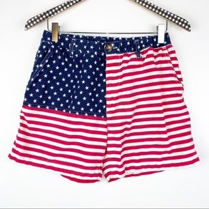 Chubbies 'Mericas Flag Shorts Medium